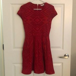 Parker fit and flare dress!